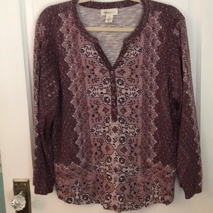 Style & Co LS top